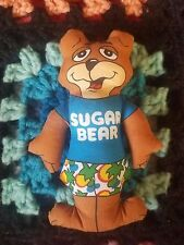"VTG Post Sugar Crisp Bear Plush Toy 4.5"" Cereal Collectible NO RESERVE"