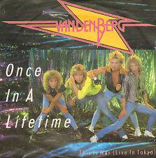 "VANDENBERG – Once In A Lifetime (1985 HARDROCK VINYL SINGLE 7"" GERMAN PS)"