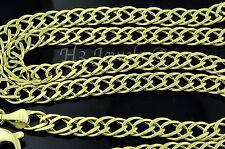 14k solid yellow gold link chain necklace italian  20 inch 28.10 grams #3650