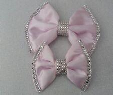Pram pushchair  pram pushchair Bows  baby pink satin with bling
