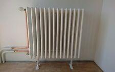 2 X pieds pour radiateurs en fonte reglable, 16 a 20cms hauter