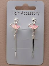 HAIR ACCESSORY - BALLET SHOES HAIR GRIPS NEW