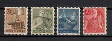 4x Deutsches Reich - Marken - postfrisch - 1943 - ANK 850-853 (457B)