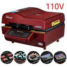 110V 3D Sublimation Heat Press Machine for Phone Cases Mugs Cups Heat Transfer