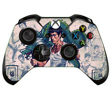 Bruce Lee Custom 1PC Skin for Xbox ONE Controller Sticker Decals #87