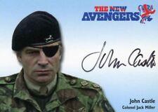 Avengers TV The New Avengers John Castle as Colonel Jack Miller Autograph Card N