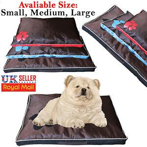 Deluxe Heavy Duty Cover Hardwearing Puppy Pet Cushion Mattress Tough Waterproof