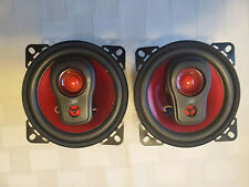 """New listing Vr3 (2) 4"""" 3 Way Car Stereo System Speakers 100 Watts"""