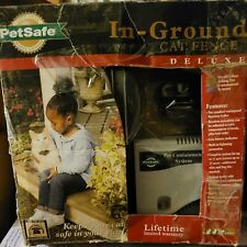 PetSafe Premium In Ground Cat Fence, everything included (box is bit damaged)