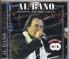 AL BANO 2 CD CONCERTO DAL VIVO stampa ITALIANA sigillato SEALED 24 TRACCE 2009