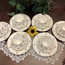 royal kent staffordshire Rosebuds England Bone Chinaware(18) Dishware dinnerware