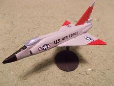 Built 1/144: American CONVAIR F-102 DELTA DAGGER Fighter Aircraft USAF