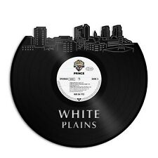 White Plains New York Vinyl Wall Art Cityscape Gift For Friends Room Decoration