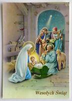 Wesolych Swiat Merry Christmas 1998 Postcard (P295)