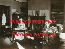 DVD SCANS WW1 PHOTO ALBUM ENGLETHWAITE RED CROSS AUXILIARY MILITARY HOSPITAL