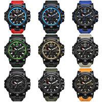 Fashion Waterproof Sports Military Shock Men's Analog Quartz Digital Watches SPB
