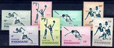 JO TOKYO Rwanda 8 val de 1964 ** FOOT BASKET SAUT COURSE OLYMPICS