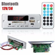12V/5V LED Car Bluetooth MP3 Decode Board Module Audio FM USB For HIFI Amplifier