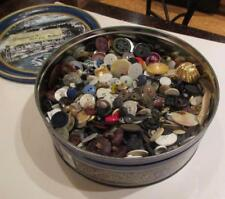 7 Lbs. Vintage Buttons Rhinestone Celluloid Bakelite & Full Sets