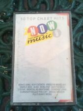 NOW THATS WHAT I CALL MUSIC 9  2 CASSETTE ORIGINAL FATBOX FREE UK POST