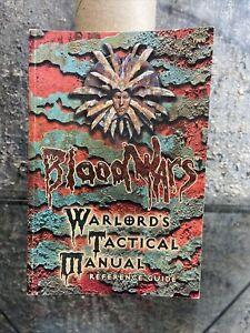 TSR Blood Wars Warlord's Tactical Manual NM-