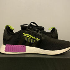 Adidas NMD R1 Men Size 12 Joker Pack Core Black Shock Purple D96627