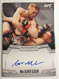 2014 Topps UFC Knockout Conor McGregor #KA-CM AUTO 034/149