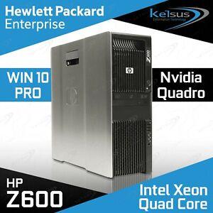 HP Z600 Workstation 2x Xeon E5530 CPU 16GB RAM 240GB SSD+ 1TB Nvidia Windows 10