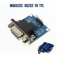 MAX3232 RS232 To TTL Adapter DB9 female 3.3-5.5V Null-Modem Konverter Modu Neu