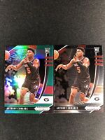 2020-21 Panini Prizm Draft Anthony Edwards Green Prizm RC/ Base RC Timberwolves