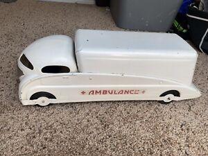 White Ambulance Steelcraft