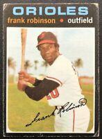 FRANK ROBINSON 1971 TOPPS VINTAGE BASEBALL CARD #640