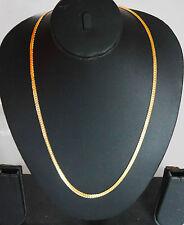 Enchapado En Oro Amarillo Relleno Cadena Collar Joyería étnica Joyería u1a