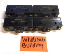 HONEYWELL/MICROSWITCH, SNAP SWITCH, BZ-2R-A2, LOT OF 4
