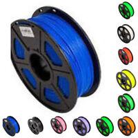 For 3D Printer Filament 1.75mm PLA 1KG/Roll Colours Drawing Art High Flexibility