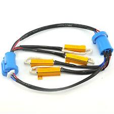 2x 9004 9007 Error Free HID Conversion Kit Load Resistor Wiring Harness Adapter