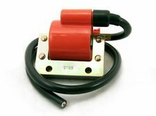 new high performance Emgo IGNITION COIL + plug wire 6v or 12v universal ATV ATC