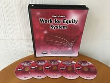 WORK FOR EQUITY REAL ESTATE SYSTEM BY RON LEGRAND - MANUAL & 5 CD'S! VERY RARE!