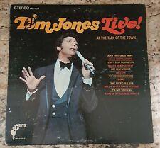 TOM JONES LIVE! AT THE TALK OF THE TOWN, ORIGINAL 1967 LP