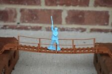 MPC Rope Foot Walkway Bridge Jungle Jim Toy Soldier Diorama