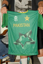 PAKISTAN NATIONAL CRICKET JERSEY WORLD CUP 2016 INDIA MEGA RARE MINT- LARGE