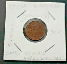 NETHERLANDS EAST INDIES 1/2 Cents 1933 - SCARCE ✔