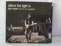 John Mayer - Where The Light Is: John Mayer Live In Los Angeles (DVD, 2008)