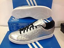ADIDAS Originals Stan Smith AQ4706 Silver Men's Trainers, Size UK 8.5 / EU 42.5