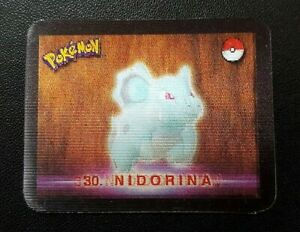 Pokemon Stadium Action 3D Card - #29 Nidoran #30 Nidorina #31 Nidoqueen