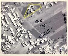 Bin Lader shooter US Navy Seal ROBERT O'NEILL Signed 8x10 Photo ~Beckett BAS COA