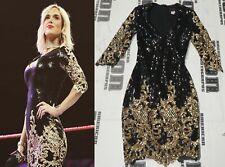 Lana Signed WWE Raw Ring Worn Used Dress BAS Beckett COA Total Divas Autograph 2
