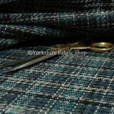 Telas y tejidos geométricos color principal azul para costura y mercería