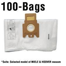 MIELE S200 series, S726 Dog & Cat, HOOVER Sensory vacuum cleaner bags,100pk