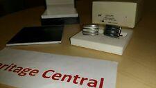 MONTBLANC CUFFLINKS Steel Collection  Rectangular  TANTALUM / Stainless 101535